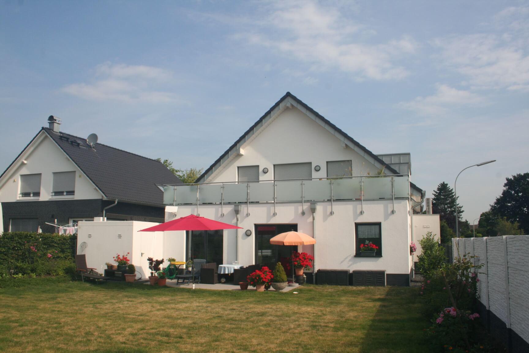 Architekt Neubau Kempen Garten